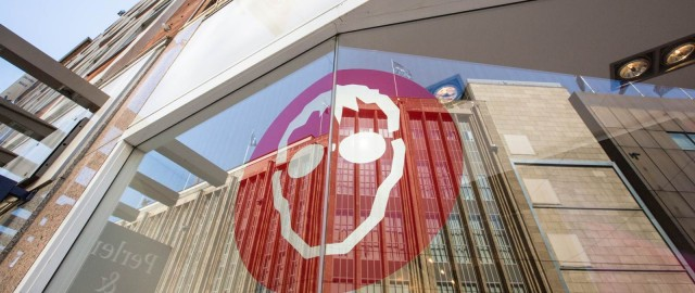 Blick auf das Schaufenster der Frenz Filiale in der Obernstraße